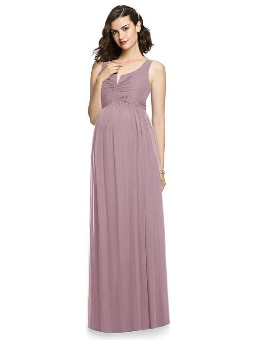 ba9c9ac9f537a After Six Maternity Bridesmaid Dress M424   Bella Bridesmaids