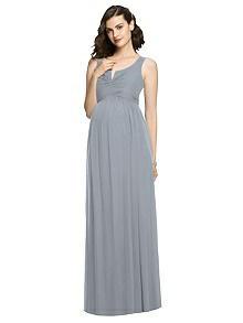 After Six Maternity Bridesmaid Dress M424