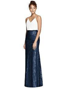 After Six Bridesmaid Skirt S6789