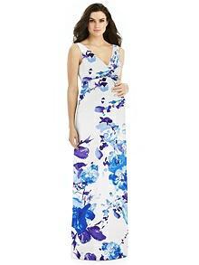 Alfred Sung Maternity Bridesmaid Dress M439FP