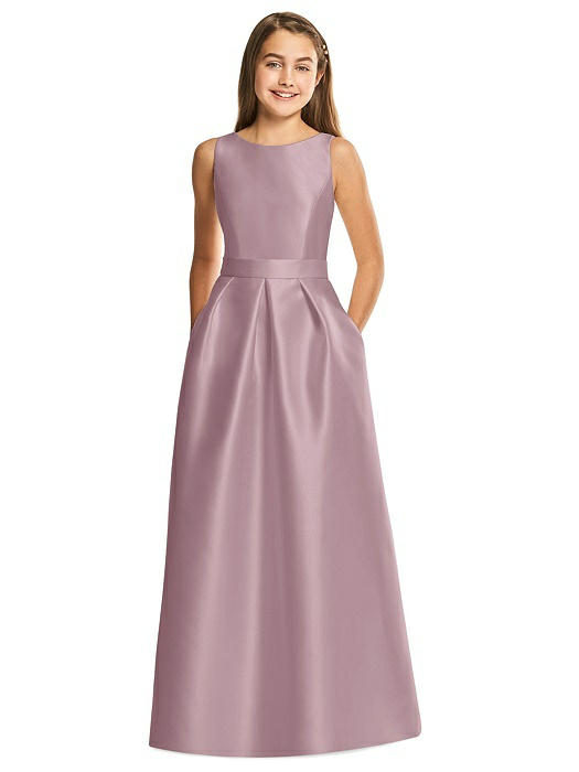 a777cbbaa ... Dresses / Alfred Sung Junior Bridesmaid Style JR544. Share: