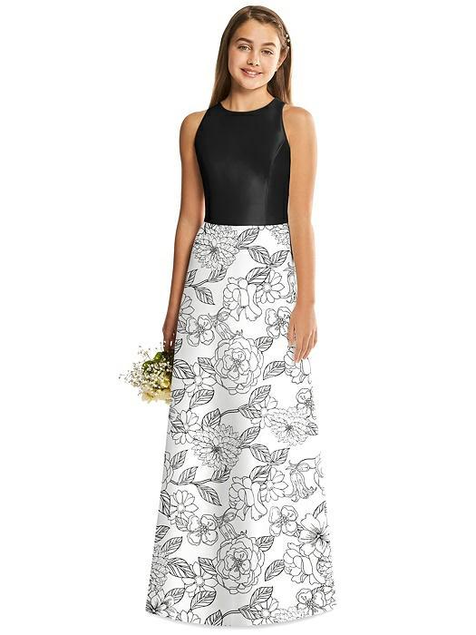 7a5d485d715 ... Alfred Sung Junior Bridesmaid Dress Style JR545CP. Share