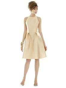 Alfred Sung Bridesmaid Dress D757