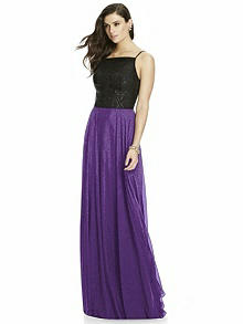 Dessy Shimmer Bridesmaid Skirt S2984LS