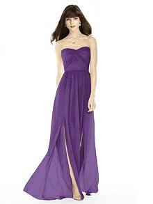 After Six Shimmer Bridesmaid Dress 6794LS