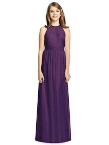 Dessy Shimmer Junior Bridesmaid Dress JR539LS