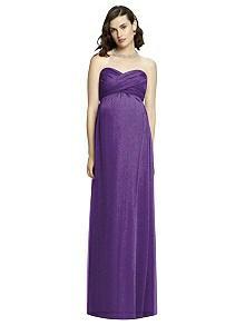 Dessy Shimmer Maternity Bridesmaid Dress M426LS