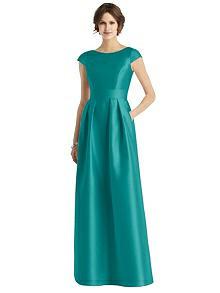 Alfred Sung Bridesmaid Dress D767