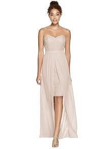 Dessy Bridesmaid Dress 3007