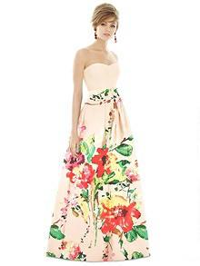 Alfred Sung Bridesmaid Dress D755CP