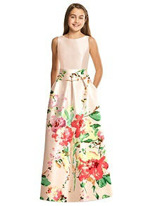 Alfred Sung Junior Bridesmaid Style JR544CBP
