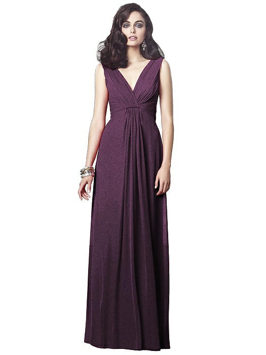 Dessy Shimmer Bridesmaid Dress 2907LS