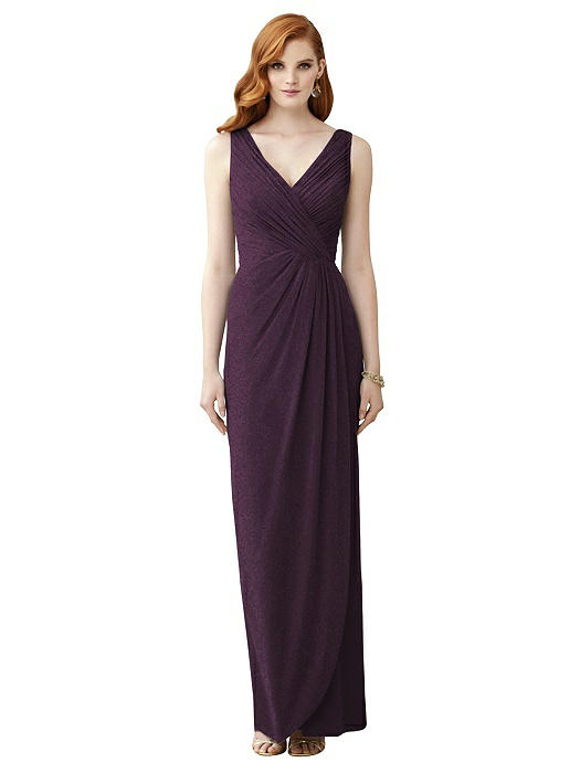 Dessy Shimmer Bridesmaid Dress 2958LS