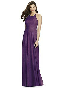 Dessy Shimmer Bridesmaid Dress 2988LS