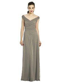 After Six Shimmer Bridesmaids Dress 6667LS
