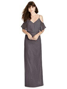 After Six Shimmer Bridesmaid Dress 6781LS