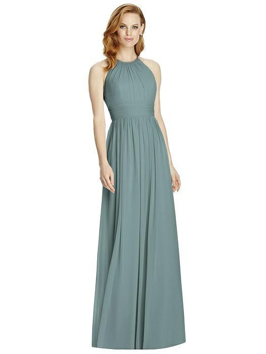 Halter Neckline Bridesmaid Dress