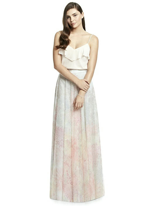 Dessy Collection Bridesmaid Skirt S2977PRNT