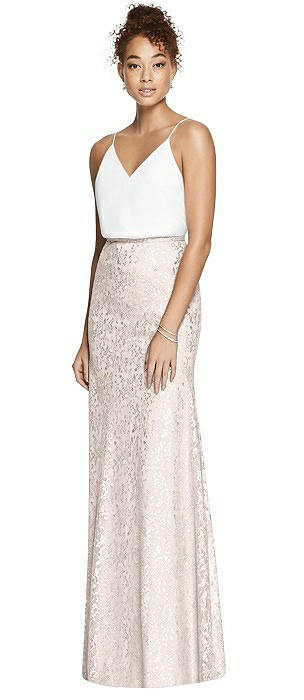 After Six Bridesmaid Skirt S6789