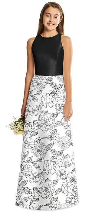 Alfred Sung Junior Bridesmaid Style JR545CP