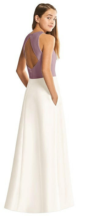 White Junior Bridesmaid Dresses Sleeveless Bridesmaid Dresses The