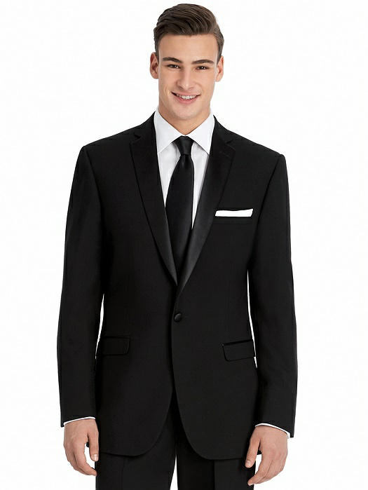 Slim Notch Collar Tuxedo Jacket - The Dylan by After Six
