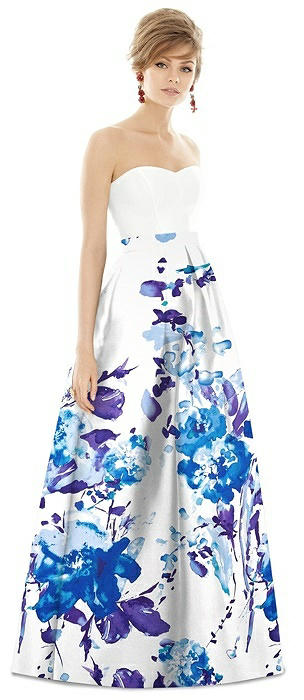 Alfred Sung Bridesmaid Dress D755CP