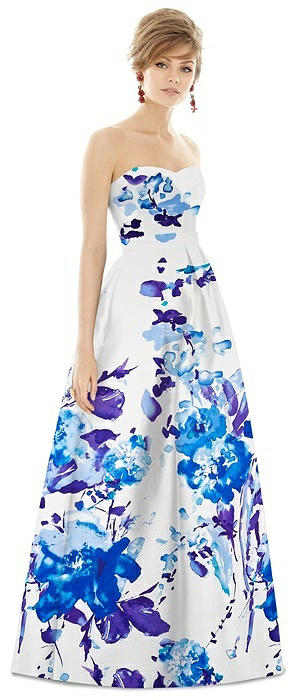 Alfred Sung Bridesmaid Dress D755FP