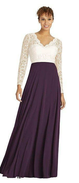 Dessy Bridesmaid Dress 3034