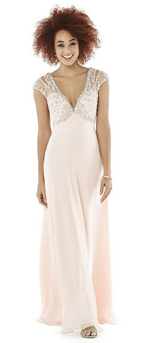 After Six Prom Dress: Hayley, Blush Pink