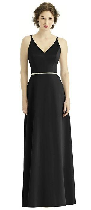 Black Renaissance Satin Bridesmaid Dresses The Dessy Group