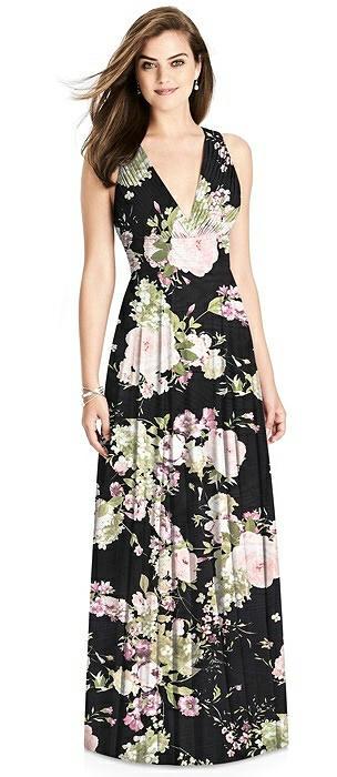 4af97120f6 Bella Bridesmaids Noir Garden Crisscross Bridesmaid Dresses The