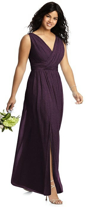 Dessy Shimmer Bridesmaid Dress 2894LS