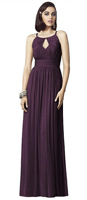 Dessy Shimmer Bridesmaid Dress 2906LS