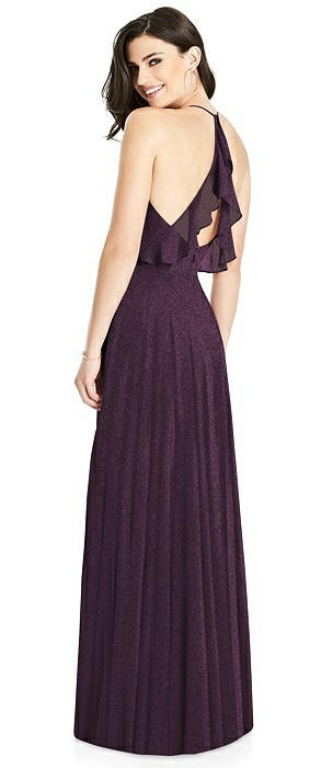 Dessy Shimmer Bridesmaid Dress 3021LS