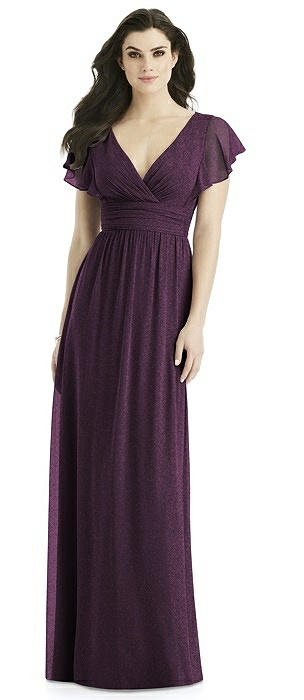Studio Design Shimmer Bridesmaid Dress 4526LS