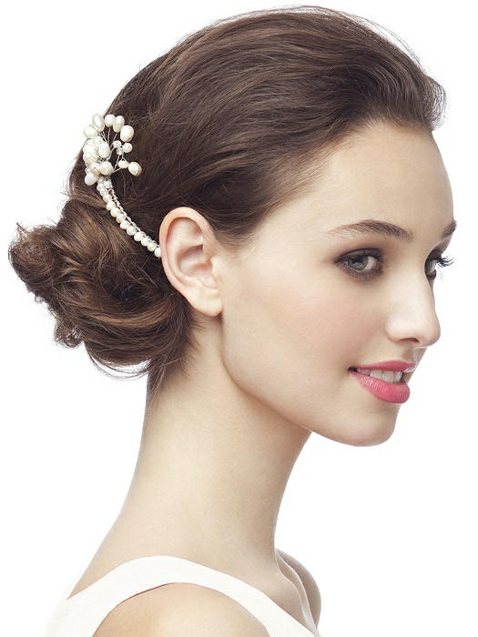 Pearl Spray Hair Comb