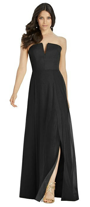 Black Dessy Strapless Bridesmaid Dresses The Dessy Group