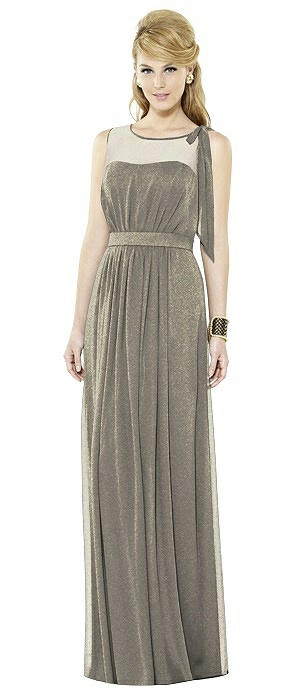 After Six Shimmer Bridesmaid Dress 6714LS