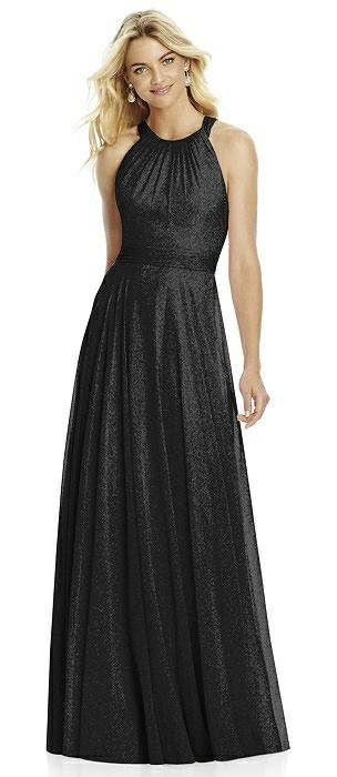 After Six Shimmer Bridesmaid Dress 6760LS