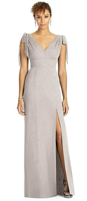 Studio Design Shimmer Bridesmaid Dress 4542LS