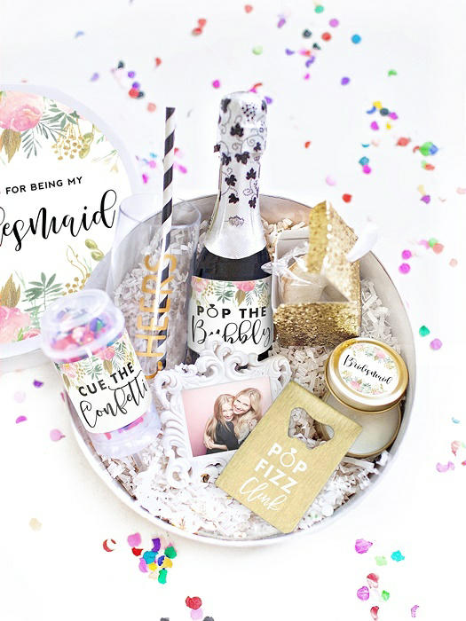 Thank You Bridesmaid Gift Box