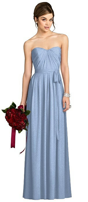 After Six Shimmer Bridesmaid Dress 6678LS
