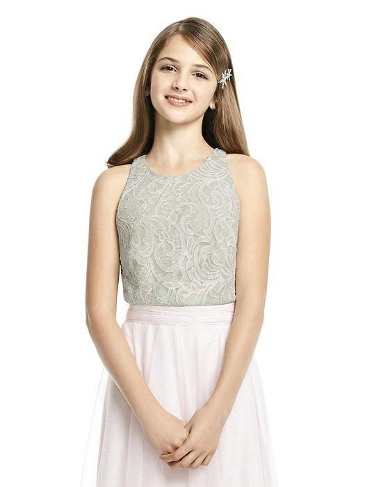 Apple Junior Bridesmaid Dresses