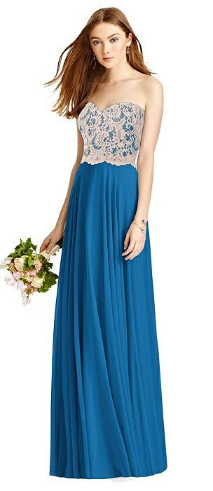 99f09e18a82 Blue Studio Design Full Length Bridesmaid Dresses