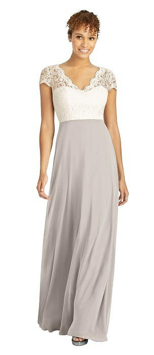 Taupe Marquis Lace Bridesmaid Dresses The Dessy Group
