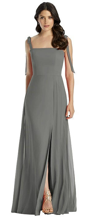 Charcoal Gray Bridesmaid Dresses The Dessy Group