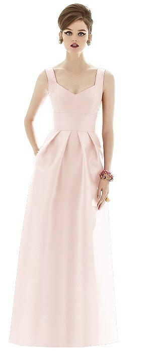 Alfred Sung Bridesmaid Dress D659