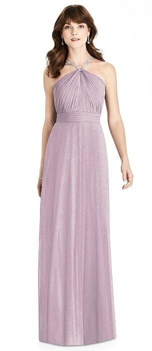After Six Shimmer Bridesmaid Dress 6782LS