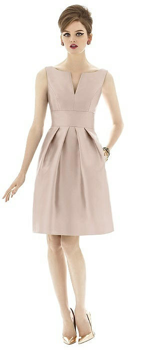 Alfred Sung Bridesmaid Dress D654